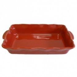 ESPRIT DE CUISINE Plat rectangle - 36cm - Festonné - Couleur