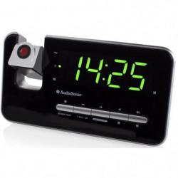 AUDIOSONIC CL-1492 Radio Réveil Projecteur - Réglage de la