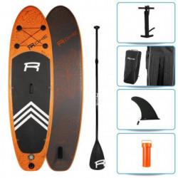 ROHE Pack Paddle Gonflable Havane II - 274x76x13 cm - Orange