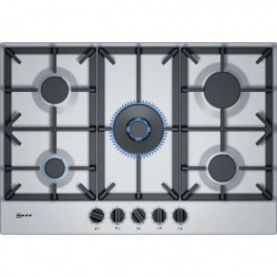 NEFF T27DS59N0 TABLE GAZ - 75CM - 4F+WOK - FLAMESELECT - INOX