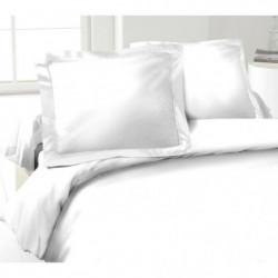 LOVELY HOME Lot de 2 Taies d'Oreillers 100% coton 50x70 cm
