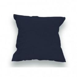 SOLEIL d'OCRE Lot de 2 Taies d'oreiller 100% Coton 65x65 cm Bleu