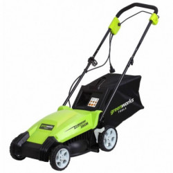 GREENWORKS TOOLS 2505107 - Tondeuse électrique a gazon - 1000 W