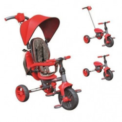 STROLLY - Tricycle Evolutif Strolly Compact - Rouge