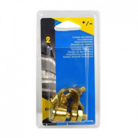 Cartec 2 Cosses Batterie Simple Serrage (+/-) En L