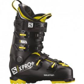 SALOMON Chaussures de ski alpin X Pro 110 - Homme - Noir et jaune