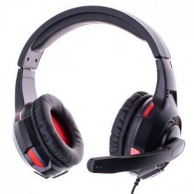 Casque Gaming double avec Micro FREAKS AND GEEKS Noir