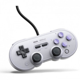 Manette Gamepad filaire grise 8Bitdo SN30 Pro SN Edition