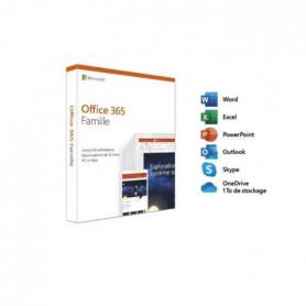 Microsoft Office 365 Famille – Jusqu'a 6 utilisateurs - PC ou Mac
