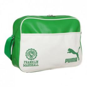 PUMA Sac Bandouliere Franklin Marshal Reporter Bag - Vert et Blanc