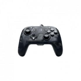 Manette filaire PDP Camouflage Noir pour Switch