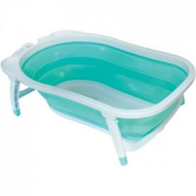 BABYSUN Baignoire Pliable - Vert d'eau