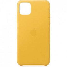 APPLE Coque cuir Citron givré pour iPhone 11 Pro Max