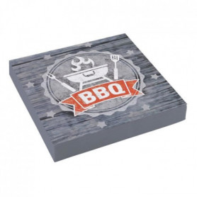 AMSCAN Lot de 20 serviettes BBQ Party