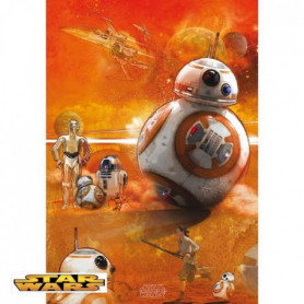 Poster Star Wars - BB8 roulé filmé (91.5x61) - ABYstyle