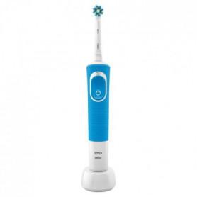 Oral-B Vitality100 Brosse à Dents Électrique Bleue - minuteur intégré