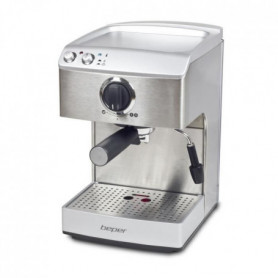 BEPER 90521 Machine expresso classique - 1250 W - Argent