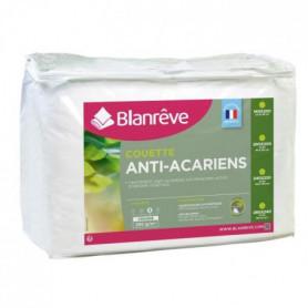 BLANREVE Couette chaude Percale - Anti-acariens - 350g/m² - 240x260