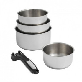 SITRAM Set de 4 casseroles 14-16-18-20cm + 1 pince