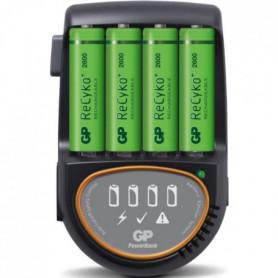 Chargeur rapide pour piles rechargeables LR6/AA