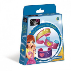 CLEMENTONI Crazy Chic - Delight - Bracelets pailletés