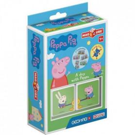 MAGICUBE - Peppa Pig une journée avec Peppa (2 cubes)