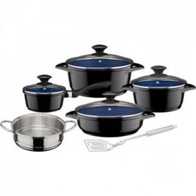 GSW Ceramica - Batterie de cuisine 9 pieces - Cobalt - Tous feux