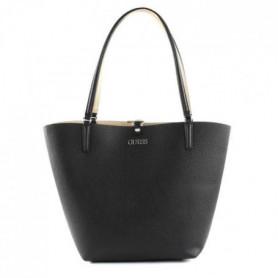 GUESS - sac a main femme  - noir/or