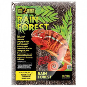 EXO TERRA Substrat Rain Forest 26,4 L - Pour terrarium