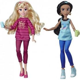 Disney Princesses - Poupees tendances Comfy Squad Jasmine et Aurore