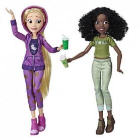 Disney Princesses - Poupees tendances Comfy Squad Raiponce et Tiana