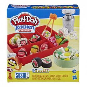 Play-Doh Kitchen  - Pate A Modeler - Menu Sushis