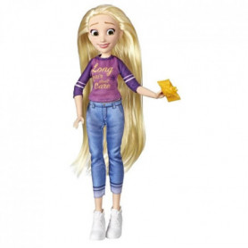 Disney Princesses - Poupee tendance Comfy Squad Raiponce - 30 cm