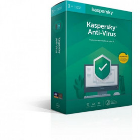 KASPERSKY Antivirus 2020, 3 postes, 1 an