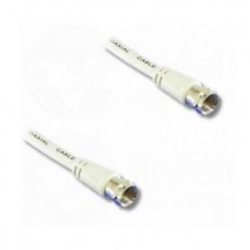 LINEAIRE TVSATA5 Câble antenne fiche F mâle / mâle 0m50