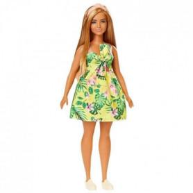 Barbie - Barbie Fashionistas Robe Tropicale - 3 ans et +