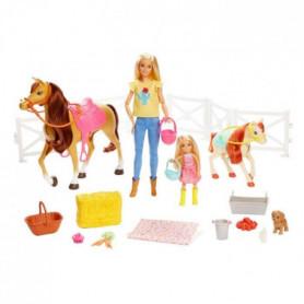 BARBIE - Barbie et Chelsea - Amies des Chevaux