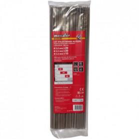 MECAFER Lot de 50 électrodes acier Mix - Ø 2 mm-2.5 mm-3.2 mm 300mm