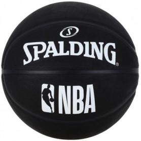 SPALDING  NBA Rubber Outdoor Basketball Ball Fun Team Noir
