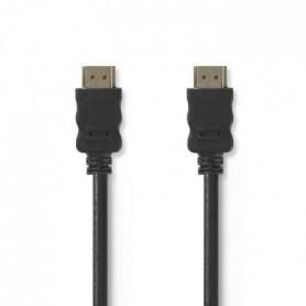 NEDIS CVGP34000BK50 Câble HDMI(TM) - Haute Vitesse - Noir