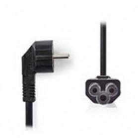 NEDIS Power Cable - Schuko Male Angled - IEC-320-C5 - 2.0 m