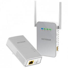 NETGEAR  Pack de 2 Adaptateurs CPL Gigabit 1000 + Wifi
