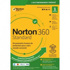 NORTON 360 Standard 10 Go FR 1 Utilisateur 1 Appareil - 12 Mo STD