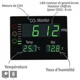 ORIUM Mesureur analyseur de CO2 Master - Référence 23620