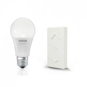OSRAM Smart+ Kit Ampoule LED Blanc Chaud Connectée + Télécommande