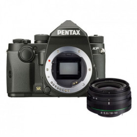PENTAX Appareil photo Reflex KP - 24,9 MP + Objectif DA18-50RE KIT