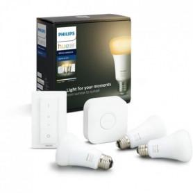 PHILIPS HUE Kit de démarrage White Ambiance 3 ampoules avec pont