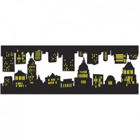 PLAGE Sticker déco - Long Island1 Planche 24x68cm