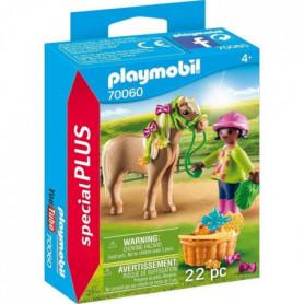 PLAYMOBIL 70060 - Cavaliere avec poney