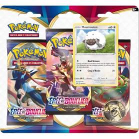 POKEMON Epée & Bouclier Pokémon Day - Pack 3 boosters MOUMOUTON